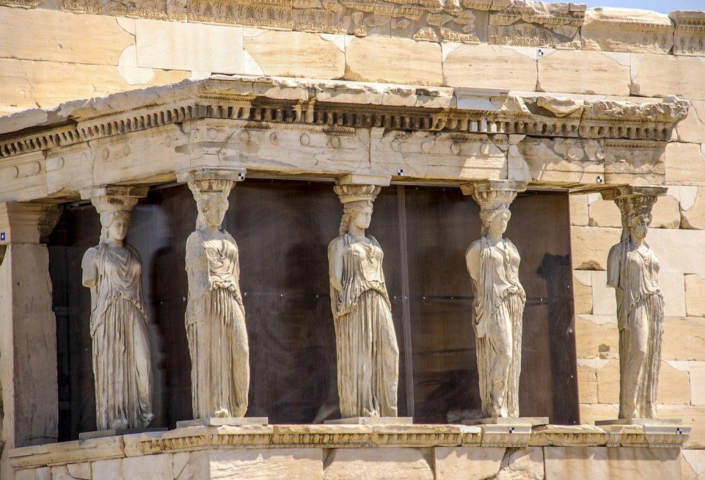 Афины, Акрополь, время Платона