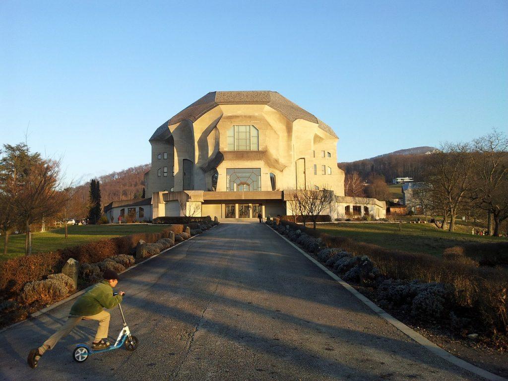 Гетеанум, Швейцария. Антропософское общество