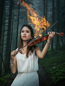 ведьмин огонь