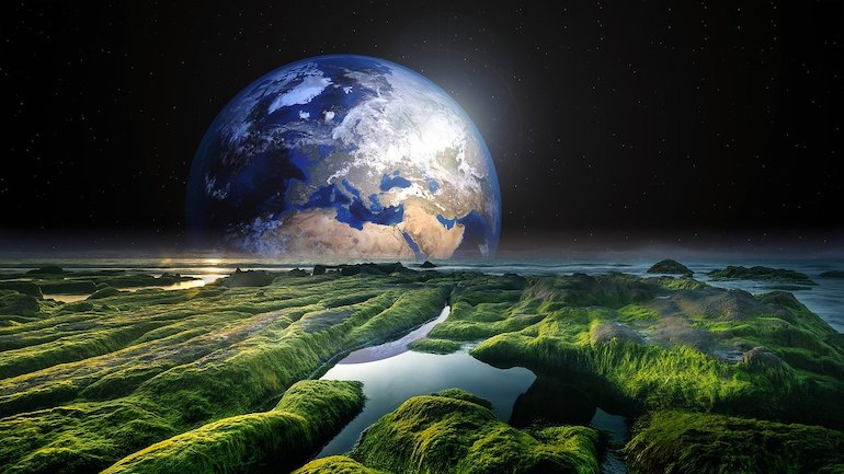 планета и земная твердь